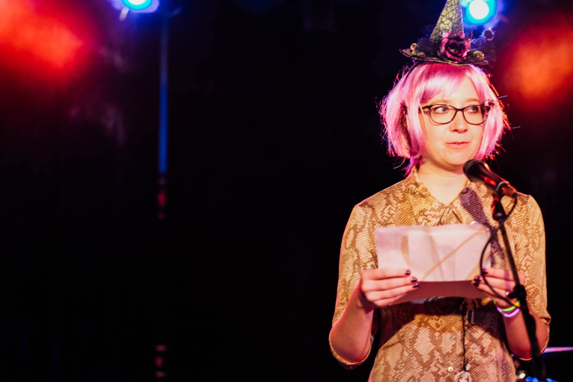 Rebecca Elliott  {she/her}  writing, performance art, printmaking, sculpture, publishing/community-building   I'm an artist/publisher/writer living in Chicago with 50 cats. Publishing projects are mainly through Meekling Press, which I co-founded in 2012. meeklingpress.com Also: rebaelliott.com   Instagram  /  Twitter
