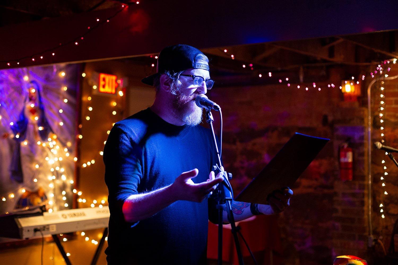 Scott Porter  {he/him}  writing, music   Pending.