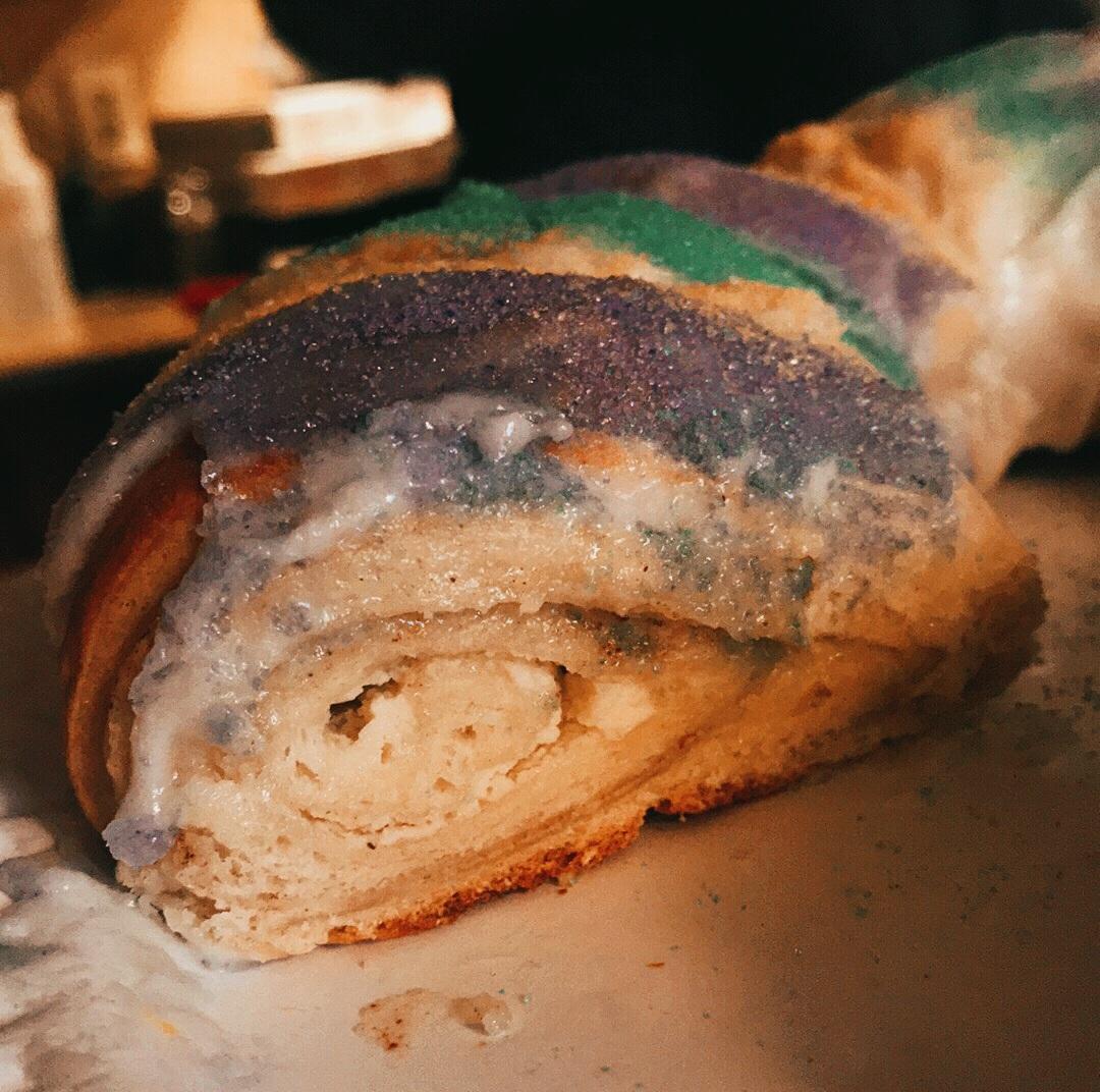 Like cinnamon rolls? Then you'll LOVE king cake.