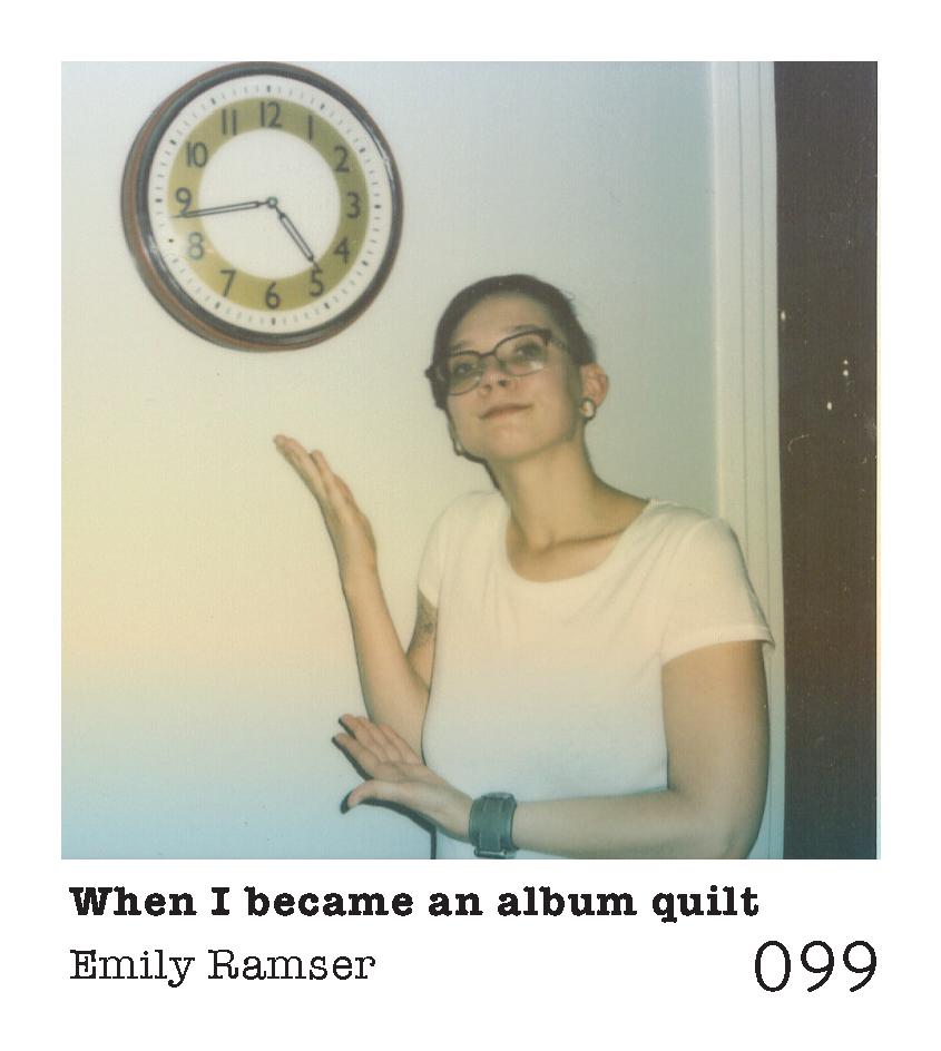 Emily Ramser   Emily Ramser is a queer activist-poet-scholar-educator living in Denton, Texas.