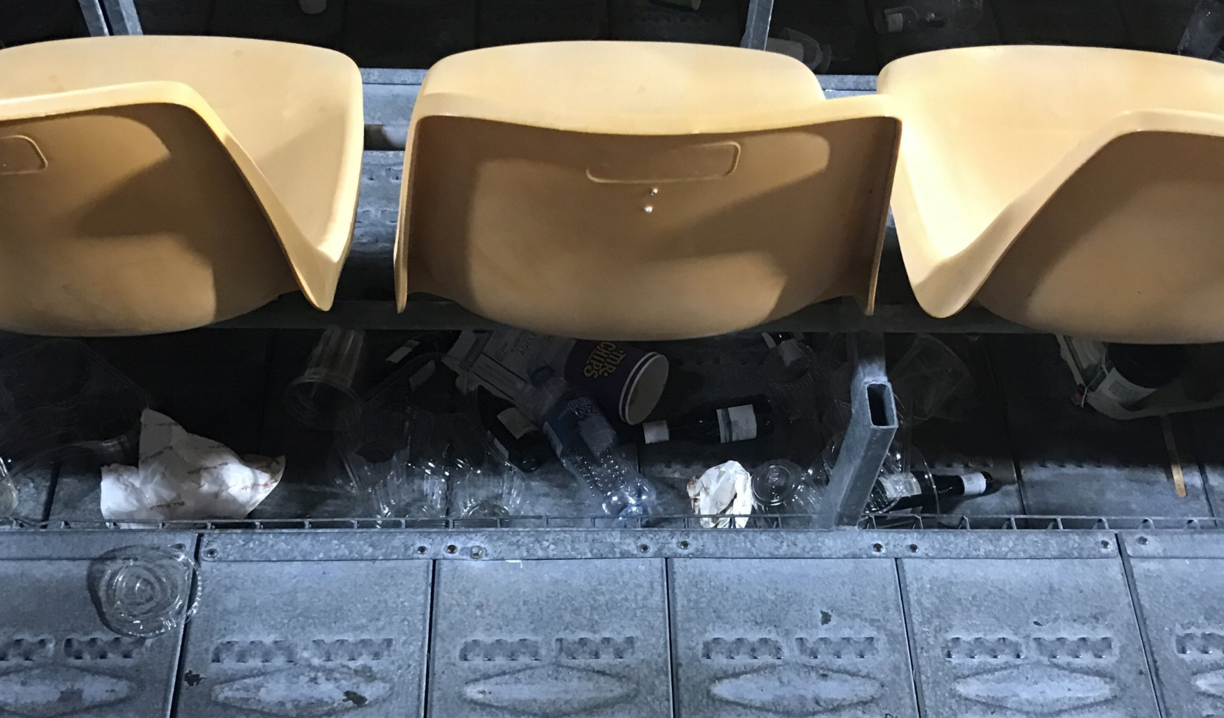 Aftermath of Adele at Mt Smart Stadium