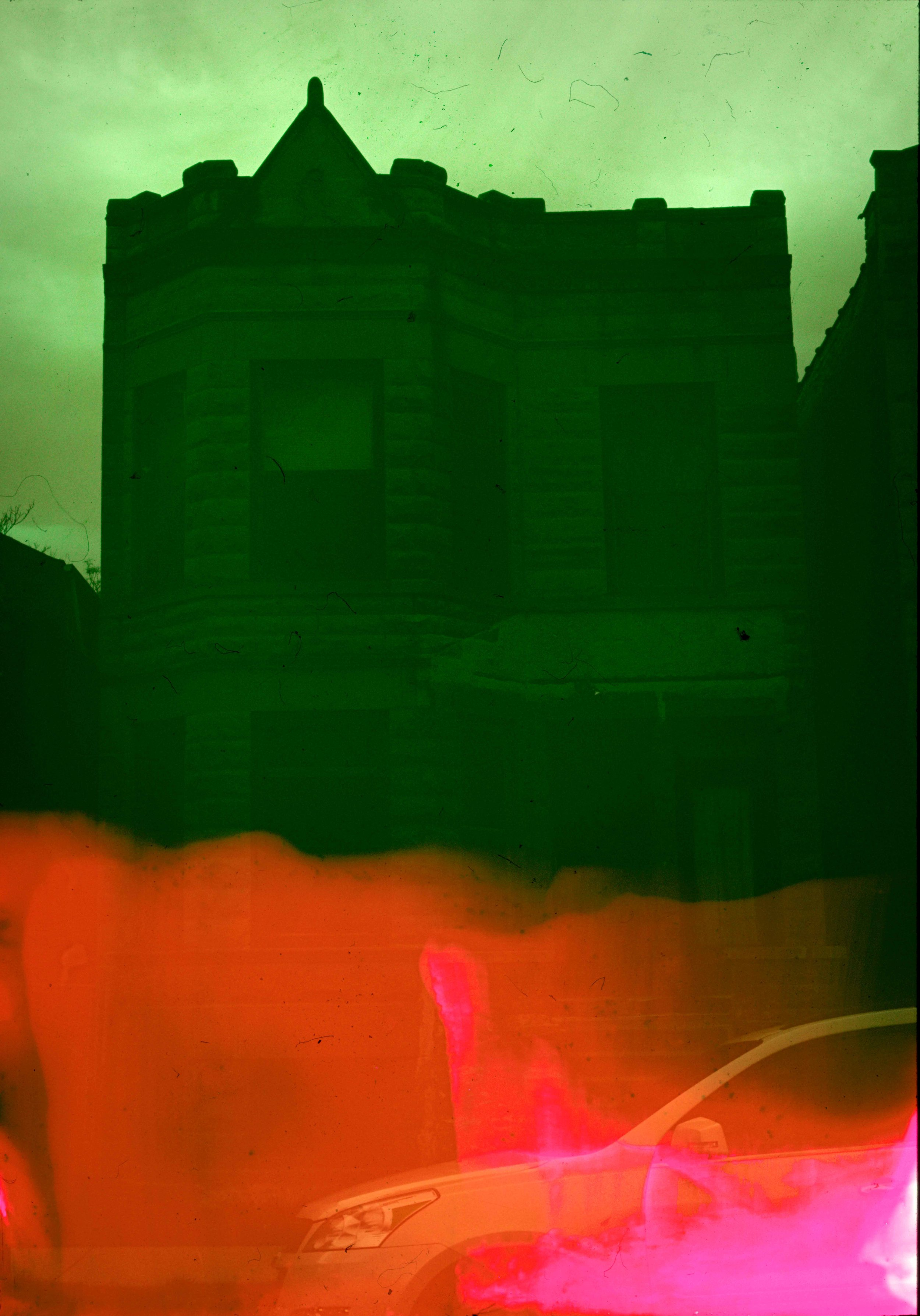 House (28 of 34) , 2017  ( Home Distortion  Series): 35mm slide film