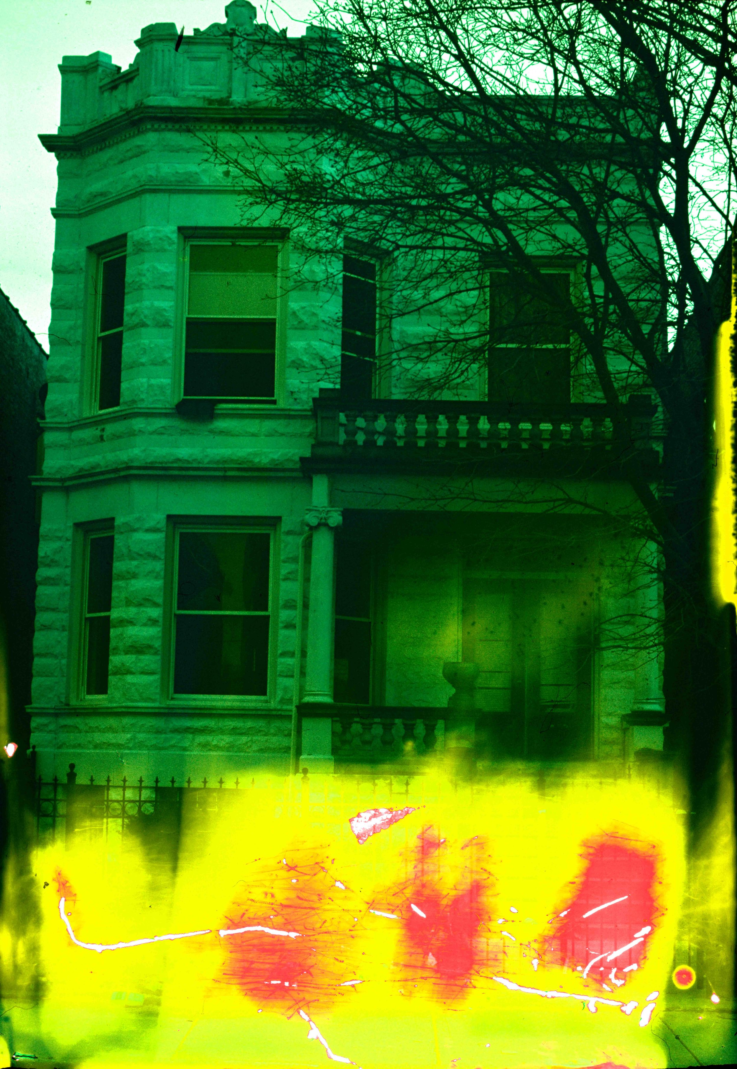 House (15 of 34) , 2017  ( Home Distortion  Series): 35mm slide film
