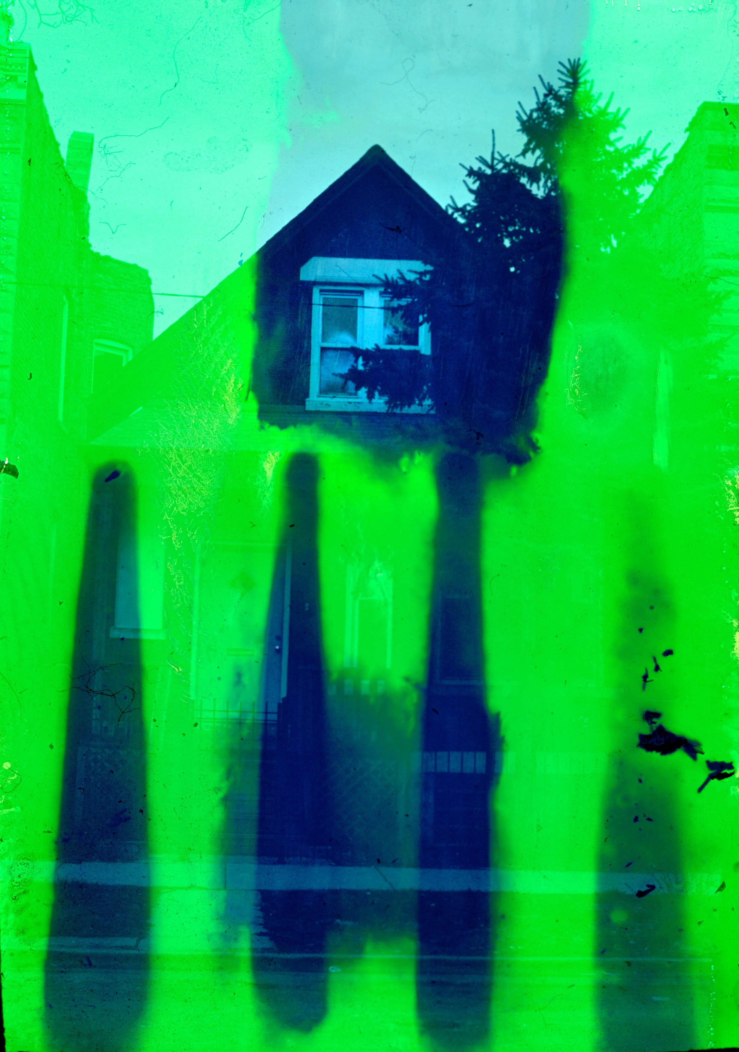 House (30 of 34) , 2017  ( Home Distortion  Series): 35mm slide film