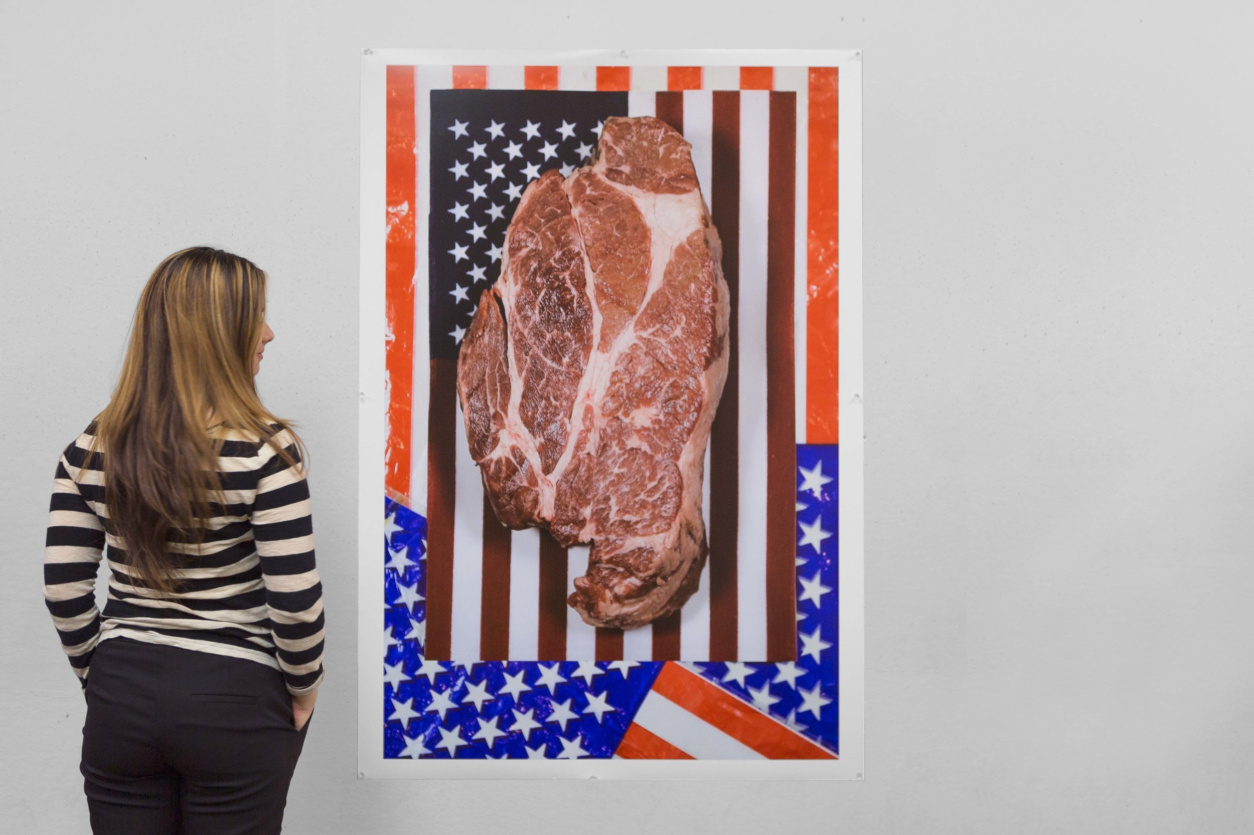 Installation view  Art Institute of Chicago, 2017