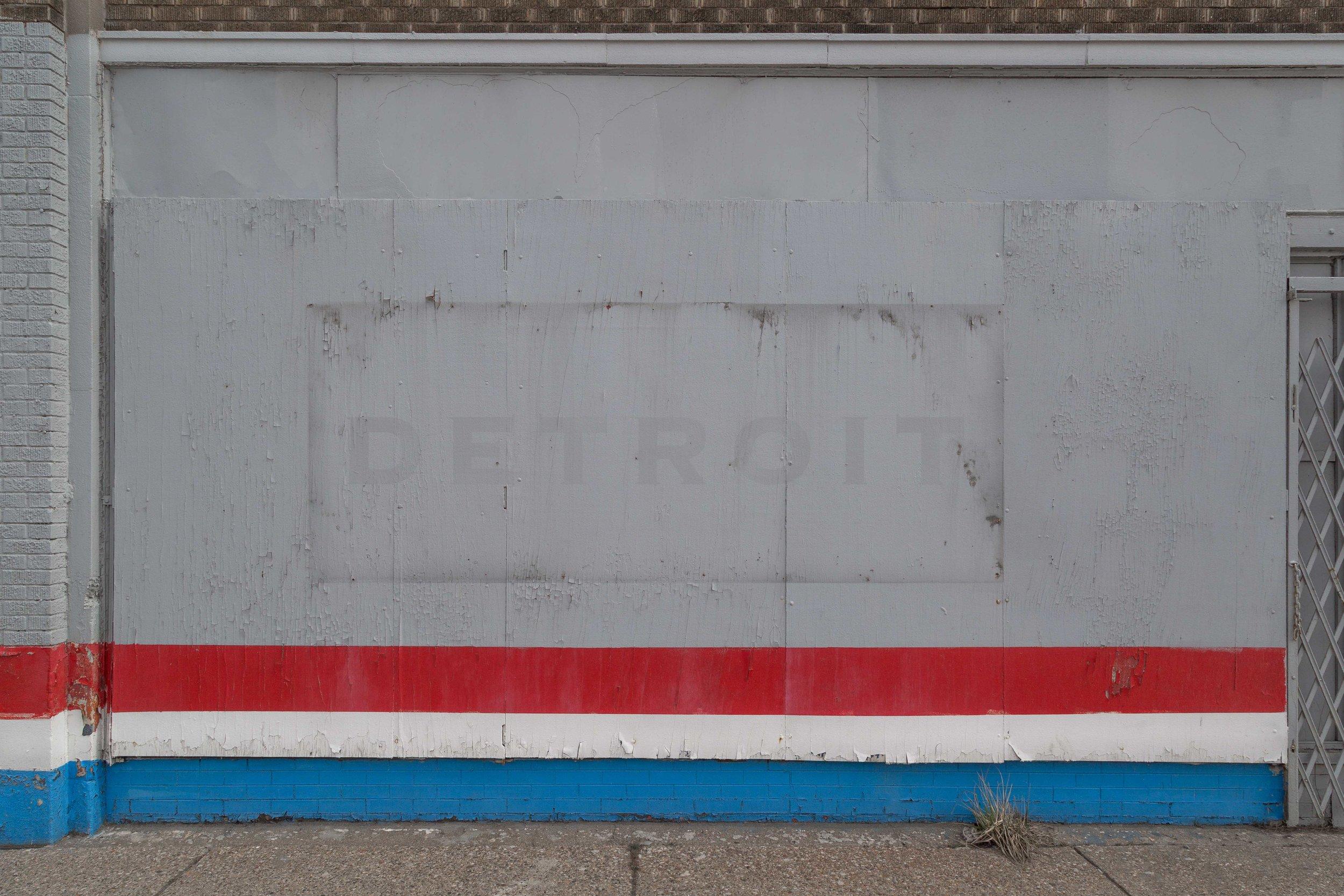 Detroit, 2018  ( Rampart  Series): archival pigment print