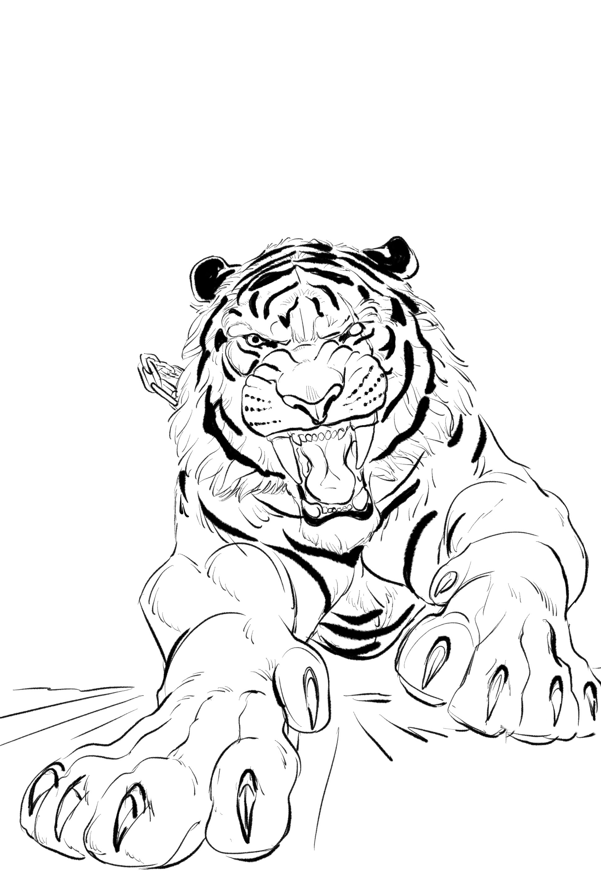 Here's an image ready for painting from Volume 2.