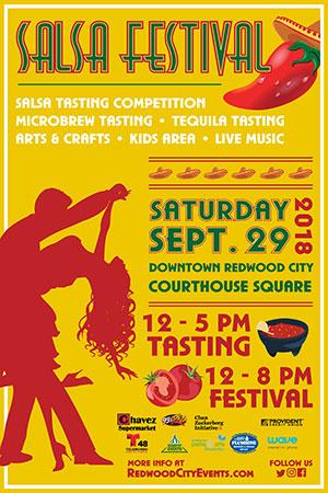 Redwood City Salsa Fest
