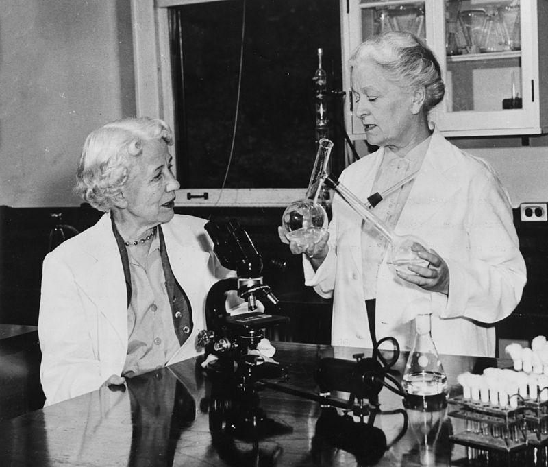 Hazen, left, with Rachel Fuller Brown