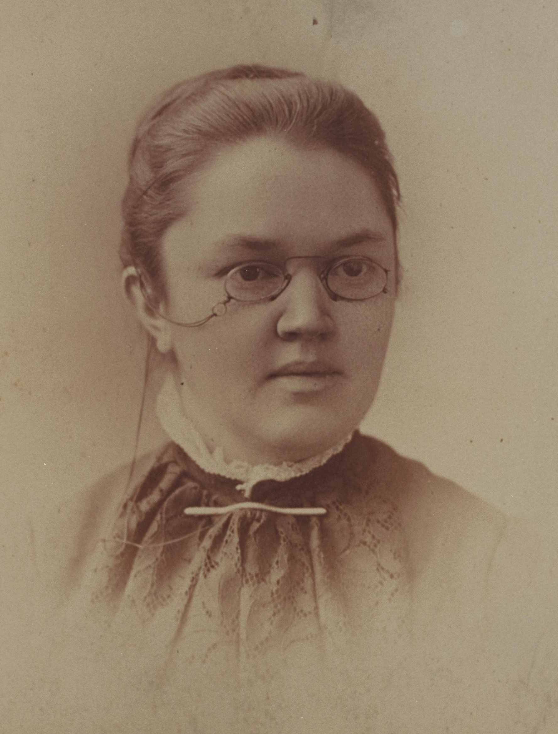 Katharine Lee Bates, photo from Schlesinger Library, RIAS, Harvard University