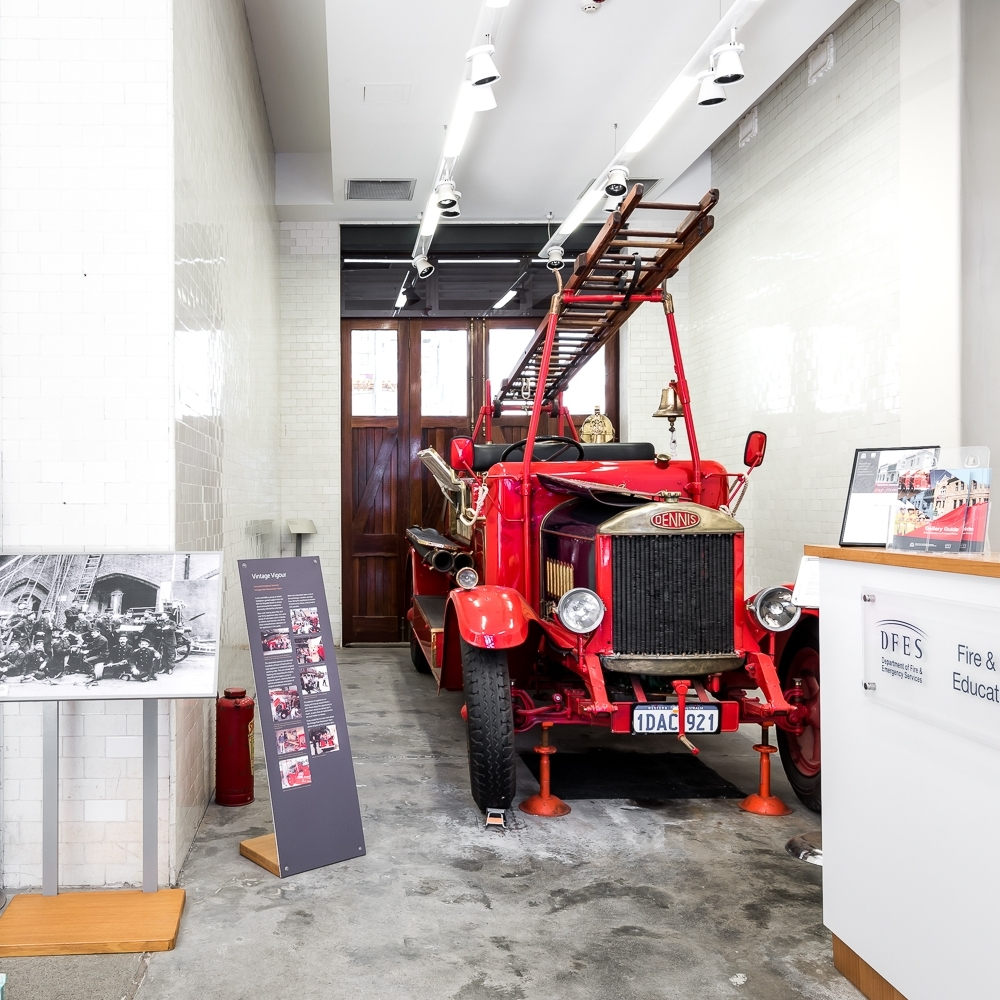 9. Department of Fire & Emergency ServicesHeritage Centre - Corner of Murray and Irwin Streets, Perth.Open on Tuesdays, Wednesdays, Thursdays 10am - 3pm. Admission is free. For further details visitDFES Education websiteHoused in the original Perth Central Fire Station, constructed in 1899, the museum showcases vintage fire service appliances and has an exhibition space featuring the history and stories about fire brigades, hazards and emergency responses.Welcoming over 18, 000 visitors a year, the centre is open to the public and offers an interactive, interesting and fun experience for schools, tourists, families and community groups.
