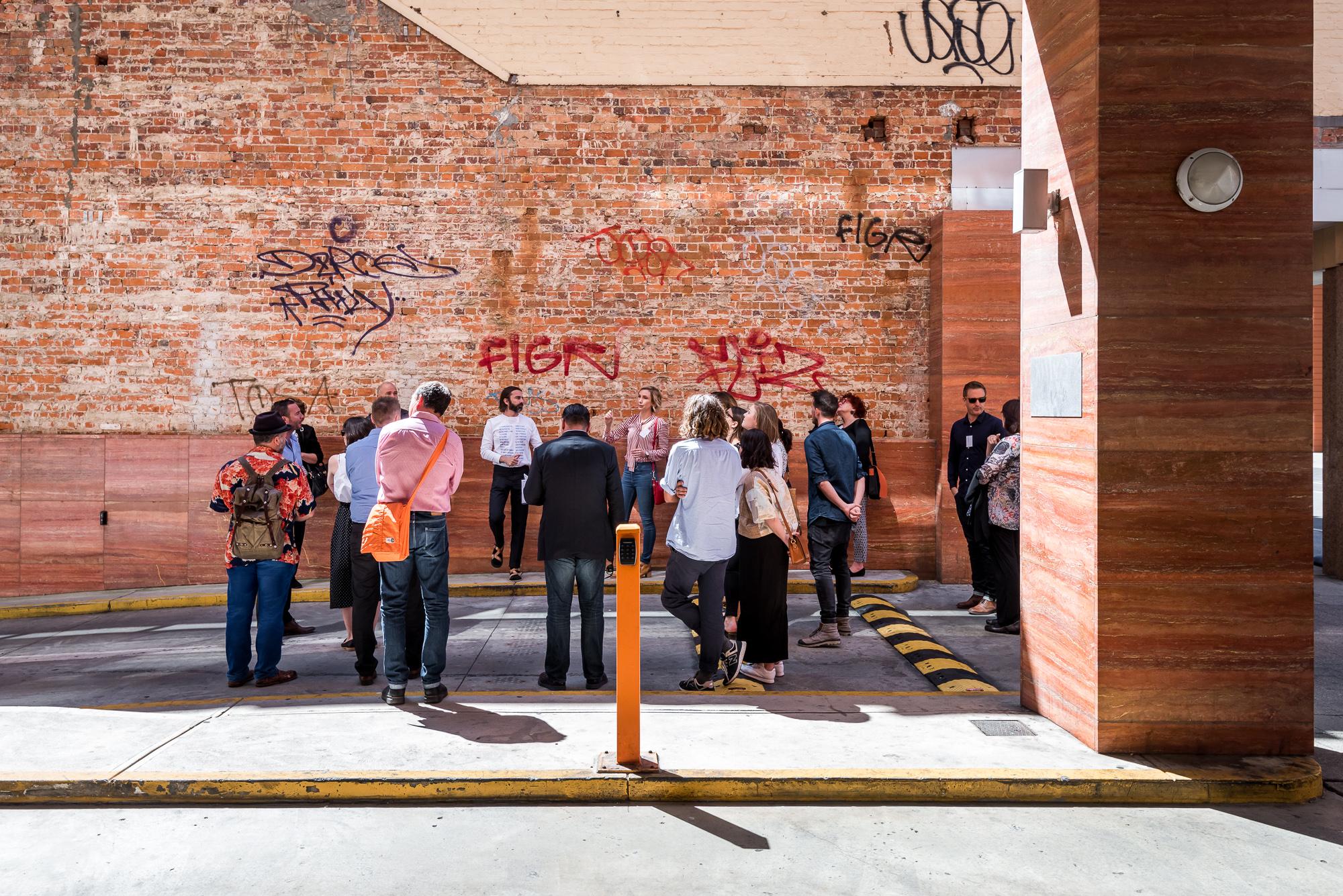 Historic Heart of Perth laneways