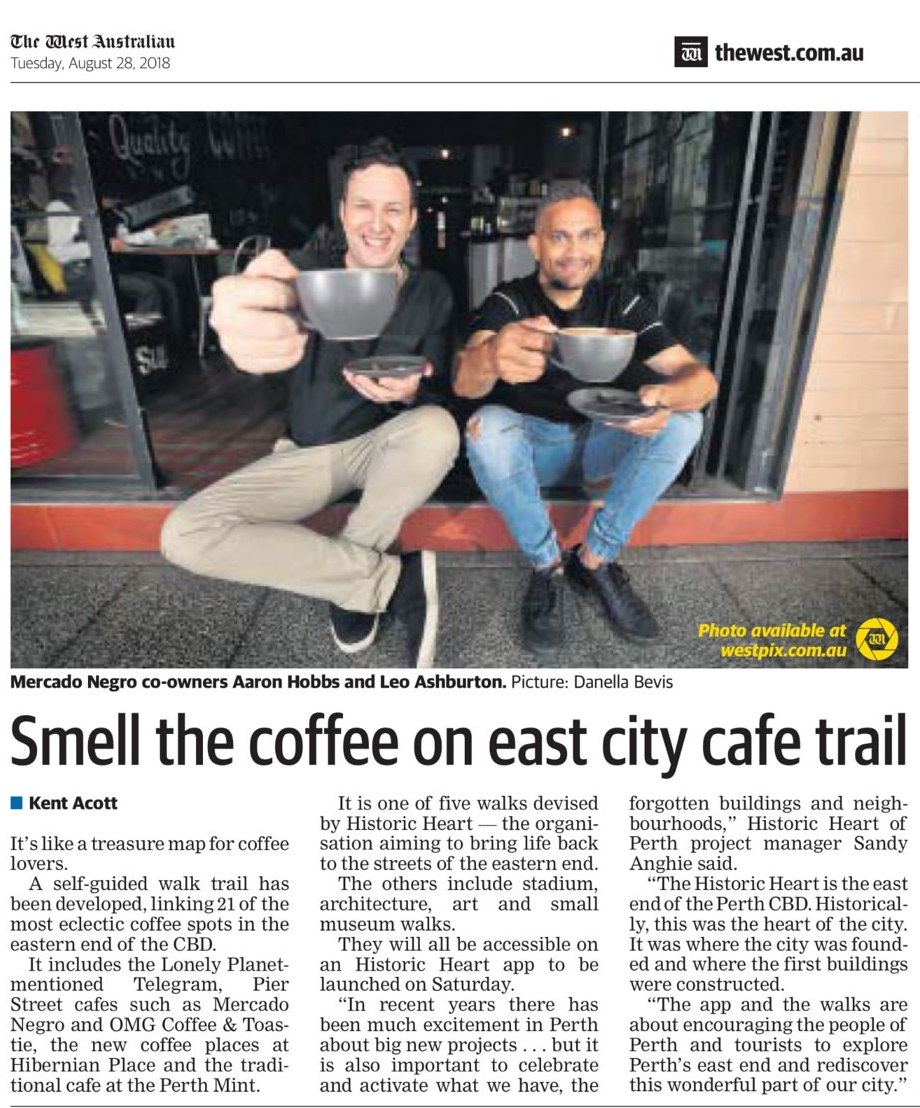 Historic Heart of Perth Coffee Walk