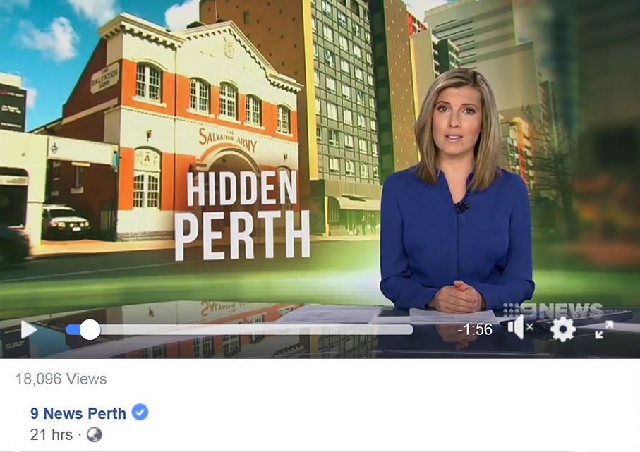 Historic Heart of 9 News Perth