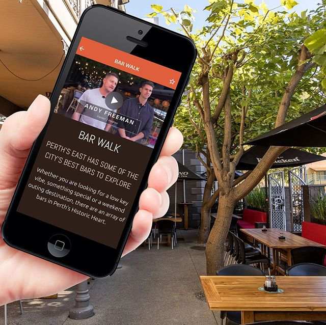 """Perth's most classy pub crawl? Historic Heart ups the ante with new addition"" - @watoday.com.au  Our new Bar Walk is making a splash 💧  Download our free App (link in our bio) to hit the Historic Heart streets ASAP!  Read the full story, google ""WA Today Historic Heart"" 🧡 or head to @sandy_anghie 's bio."
