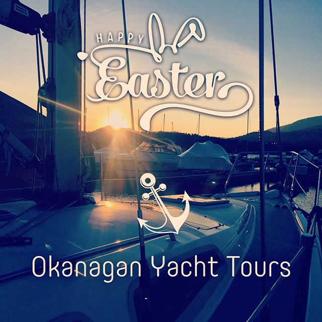 Easter sailing yacht tours available all weekend. Do something different this year and take the family sailing anytime Easter weekend. Reserve online or text, email or call us anytime to answer all your questions. www.yachtlife.ca ⚓️ #okyachtlife  #okyachttours #okanaganyachttours #yachtlife #okanagan #okanaganlife #okanaganyachting #kelowna #explorekelowna