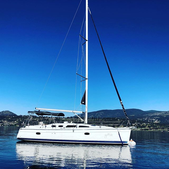 So many great yacht tours we can't keep up!  Have your nauti private day on an authentic sailing yacht right here on Okanagan Lake. This is luxury like no other boat tour in the Okanagan. Tours available 7 days a week! BOOK ONLINE www.yachtlife.ca ⚓️ #okyachtlife #okanaganyachttours #exploreokanagan #kelowna #sailing #yachtlife #okanaganboating