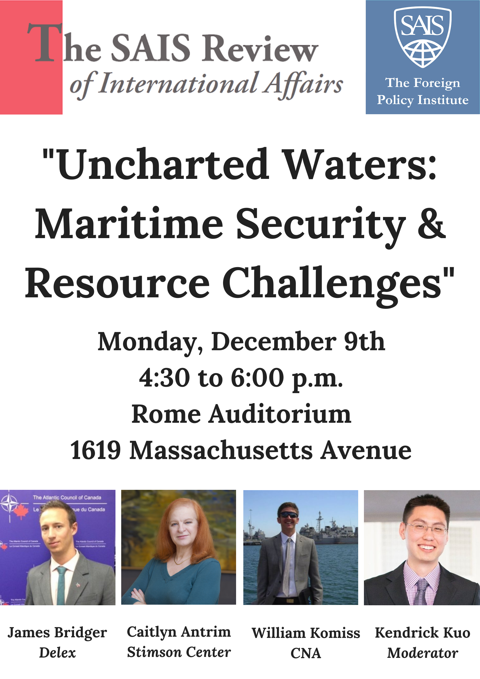 SAIS Review Uncharted Waters