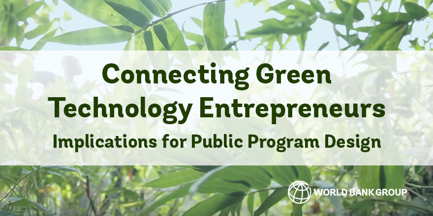 Connecting Green Tech Entrepreneurs on Twitter