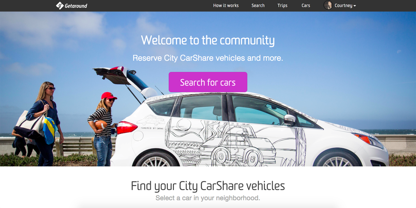 City CarShare Welcome