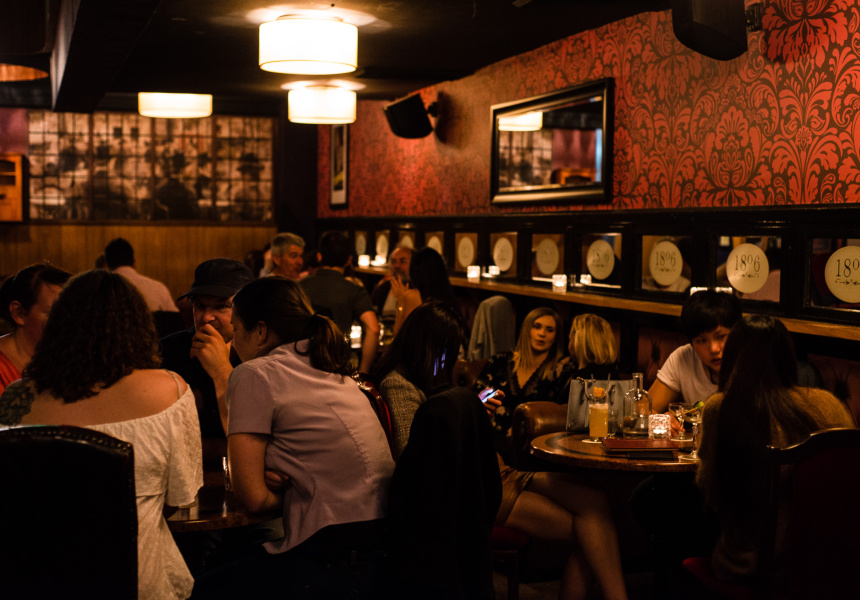 cocktails and whiskey at Melbourne venue 1806.jpg