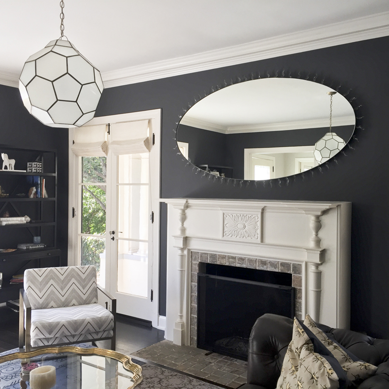 Flame Mirror for  House of Honey