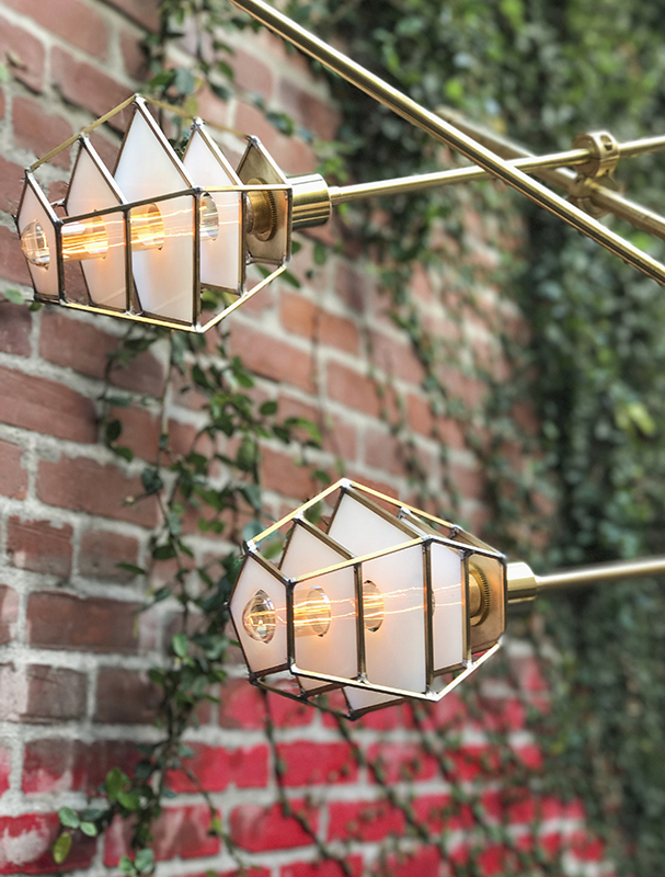 """Circuit Chandelier                         40"""" x 36"""" x 18""""                    Custom Sizes Available.                        Brass and Steel"""