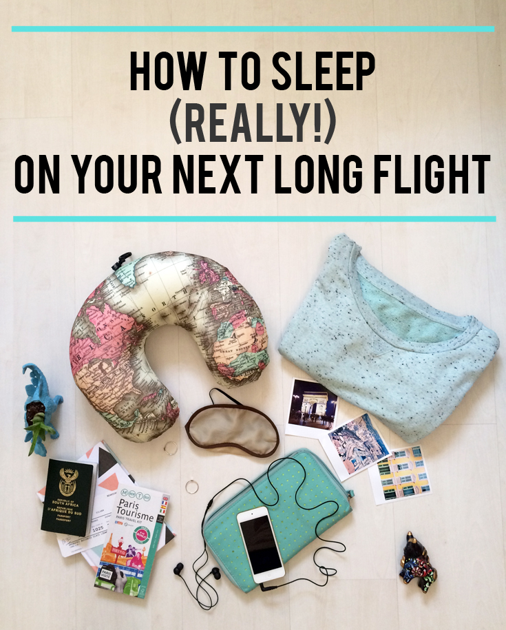 Does counting sheep seem impossible for you while squashed up in economy class? There are a few tricks to making sure you catch some shut eye while travelling overseas. Here's how to get comfortable (really!) and sleep on your next long flight.