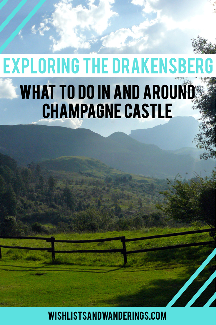 Exploring the Drakensberg: What to do in and around Champagne Castle. South Africa's tallest mountain range, the Drakensberg ('dragon mountains') are home to a UNESCO World Heritage Site, priceless rock art and a lot of eager travelers inspired by the wildlife and stunning landscapes. One of the tallest mountains, Champagne Castle, lies in a valley offering activities for any type of holiday. From horse riding, golf, bowls and tennis to white water rafting, quad biking and non-outdoorsy options (craft stalls, choir concerts and coffee shops), there is a lot to do, see and eat in this beautiful destination.