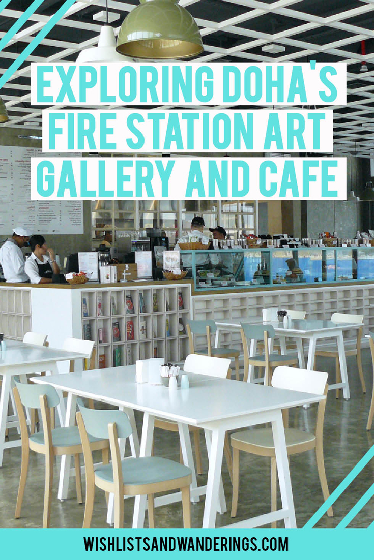 Two red fire engines, a fireman pole and um, acrylic paint and falafel wraps? Doha's old fire station has been converted into a contemporary art gallery and café space - and an old fire engine is now a food truck! This trendy and intriguing mix of art and cuisine in a stunning industrial-chic refurbished space is a great stop on a visit to Qatar. Click through to find out why we loved Doha Fire Station and Cafe #999.