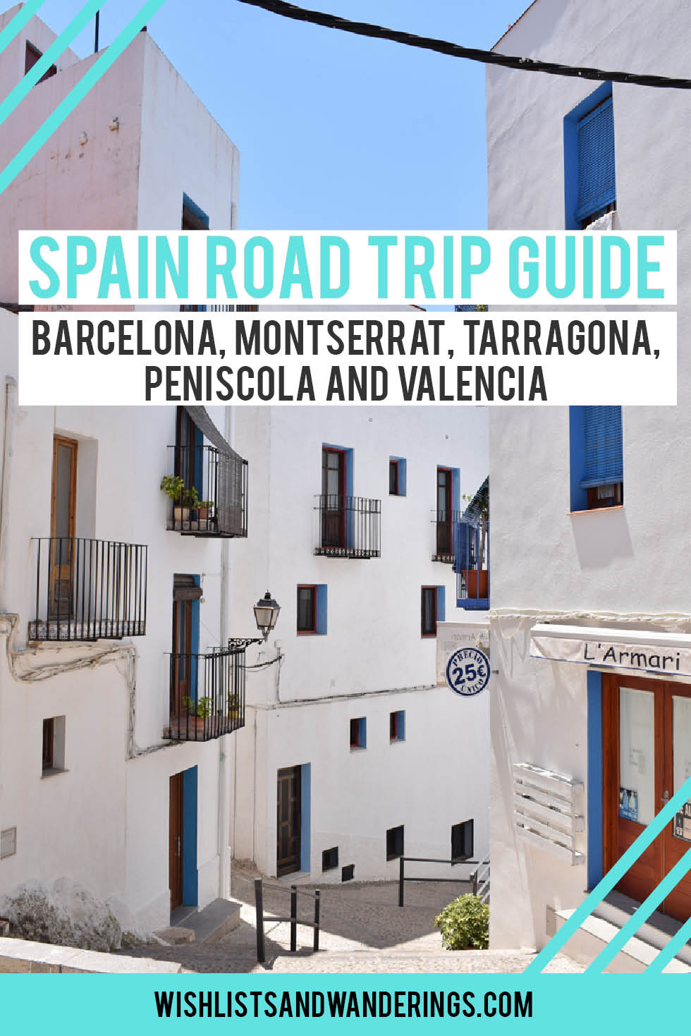 You, some awesome people, a car, and the open road... magic. If you're looking for a different way to explore Spain, this guide will help you plan a route and navigate some of the challenges of roadtripping abroad. From Barcelona to Valencia, via mountain-top monasteries and seaside towns, it's packed with sights to see and tips to make your drive through Spain as smooth as possible.
