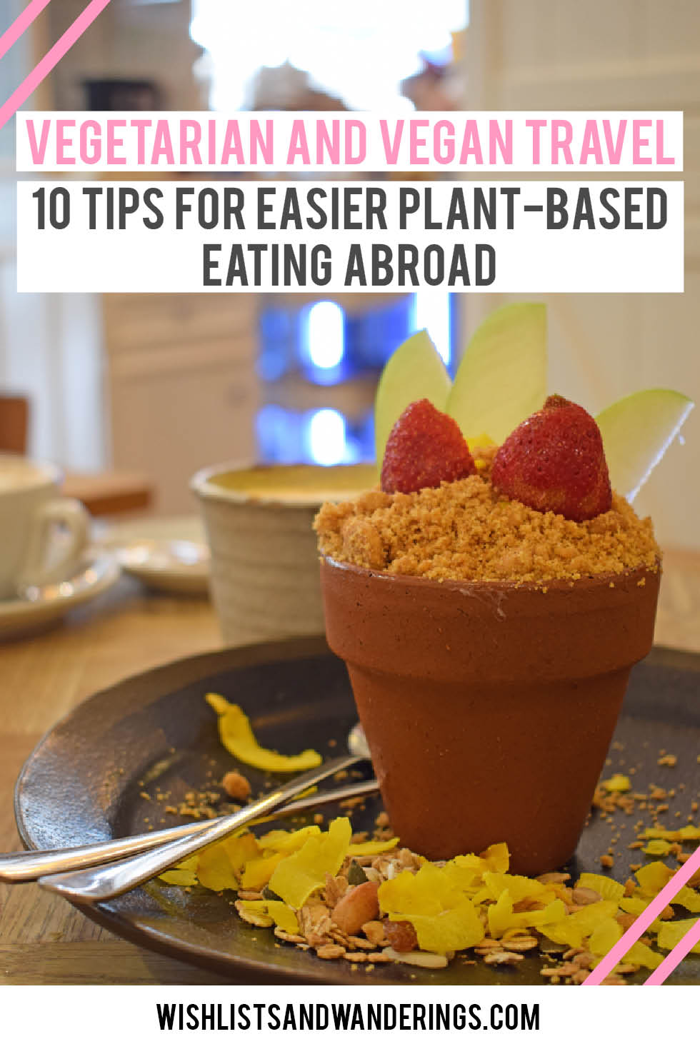 Off to explore a new country but worried about locating vegetarian or vegan food? Don't stress. Here are some tips forfinding plant based food, navigating foreign menus, and avoiding hangry spells when you're travelling.