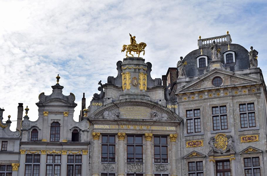 Brussels Grand Place Maison des Brasseurs