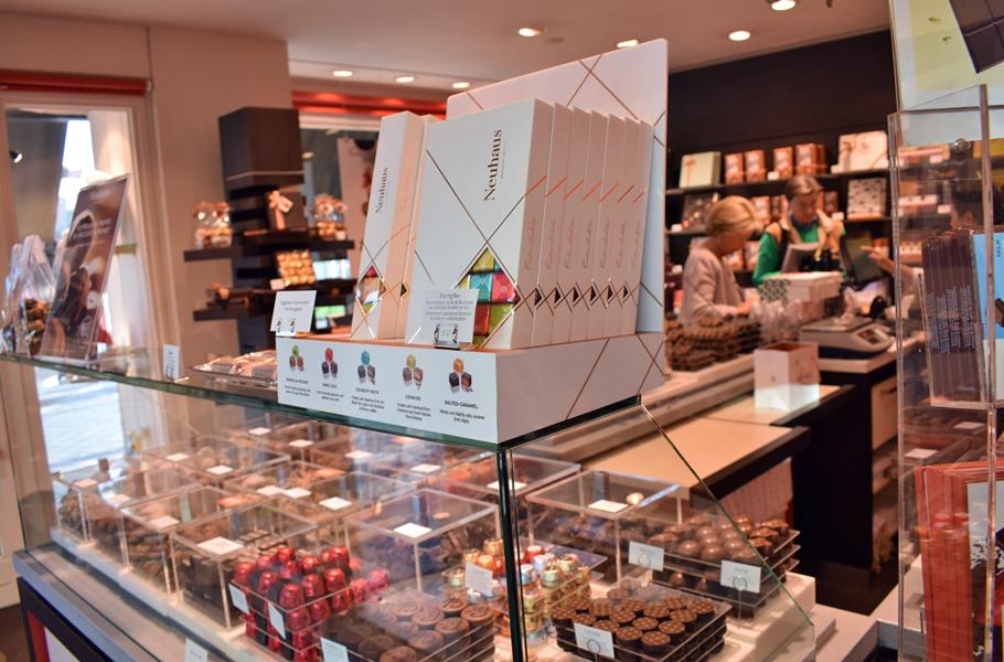 Brussles Neuhaus chocolates