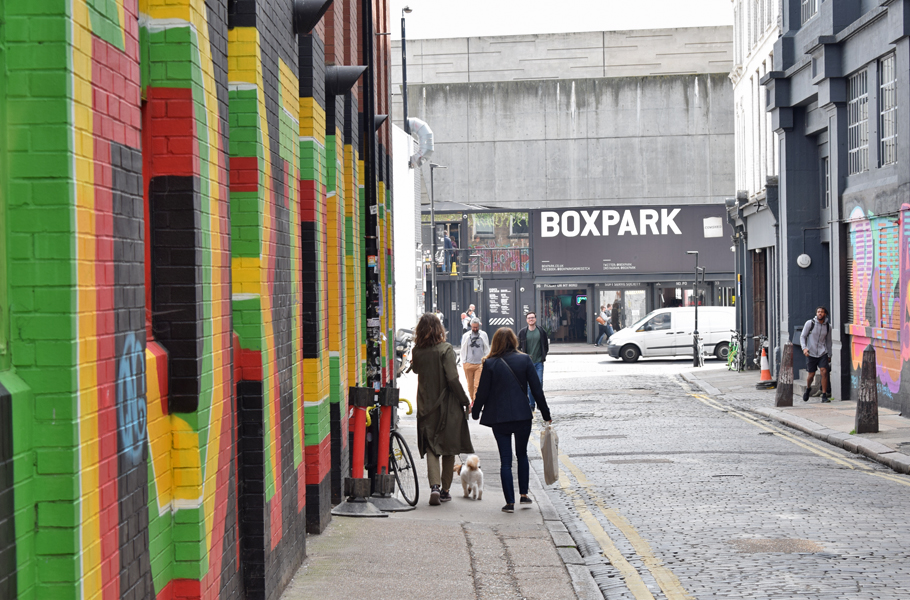 Box Park Shoreditch