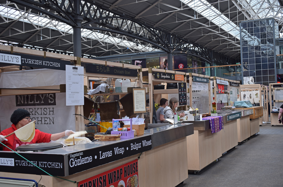 Old Spitalfields Market food