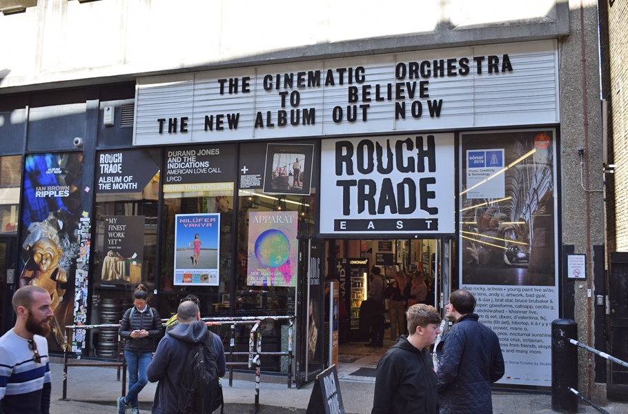 Rough Trade Truman Brewery London