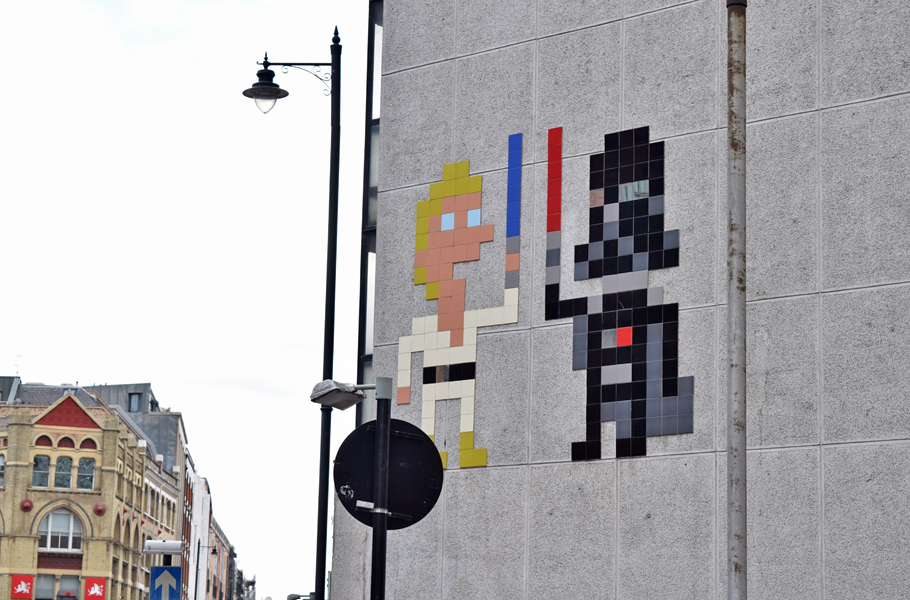 Star Wars Street Art London Shoreditch