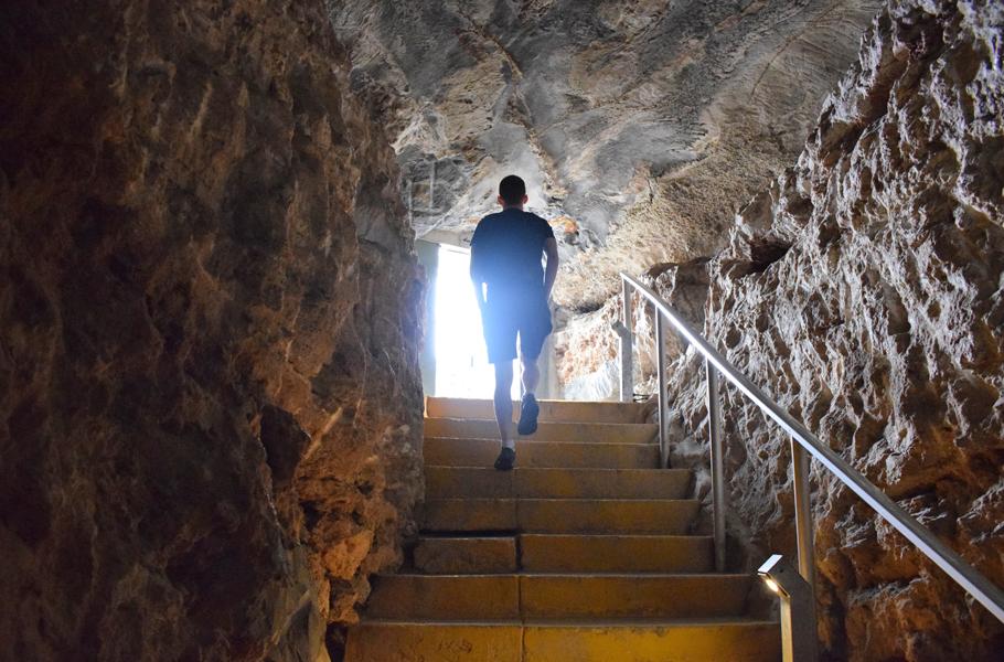 Cango Cave exit