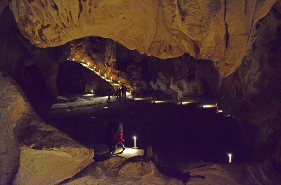 Cango Caves banquet hall view
