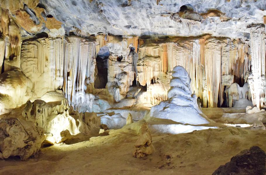 Inside Cango Caves