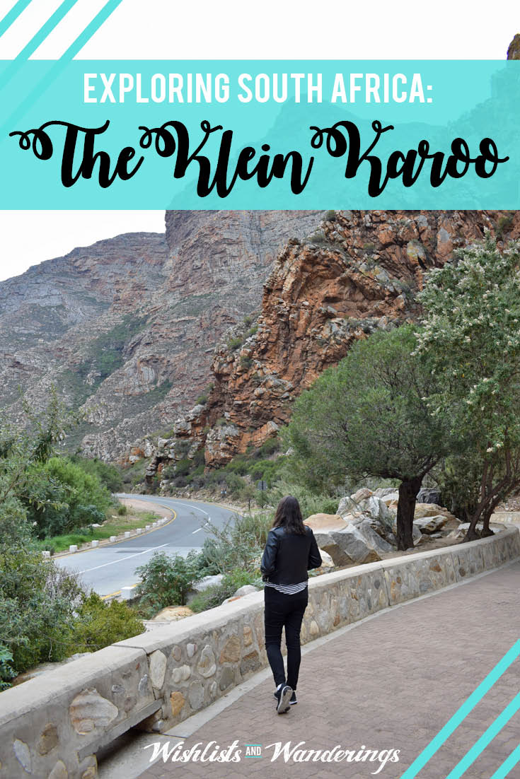 Follow me to ancient caves and South Africa's dramatic semi-desert, the Klein Karoo. From the ostrich capital of the country, Oudtshoorn, to the famous Cango Caves and the artsy village of De Rust, it's quite an adventure.