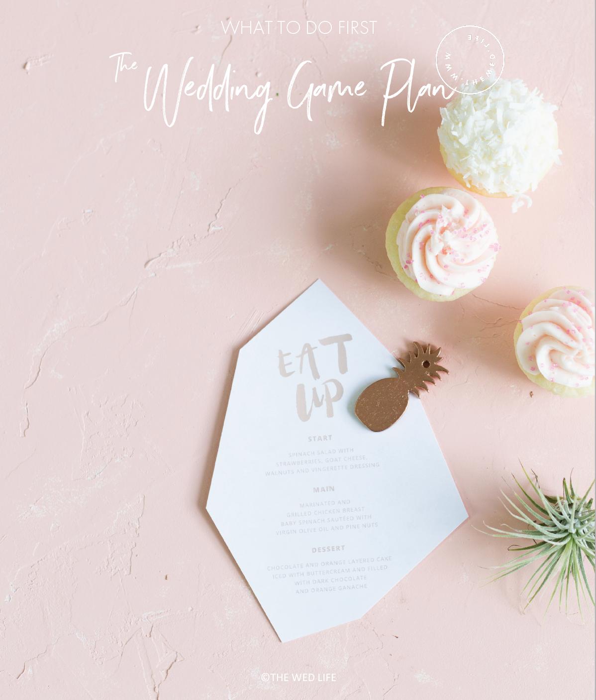 Wedding Game Plan