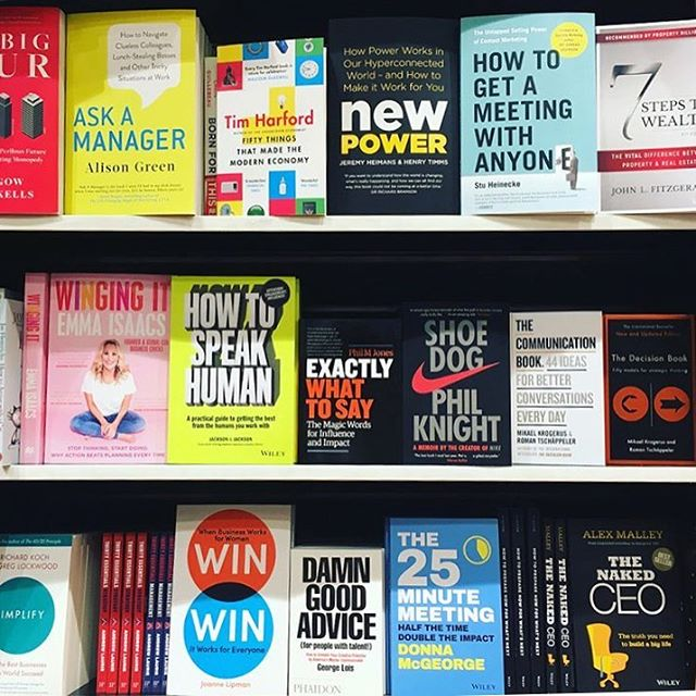 Well, it's got some shelf presence! How to Speak Human is the book @dougaljackson and I wrote earlier this year with Wiley. Amazing to see it on the shelves at long last!