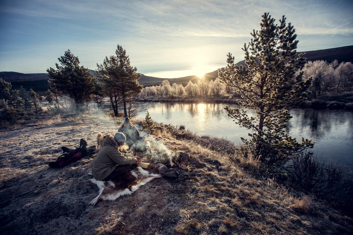 Det er noko særskilt med hausten i høgfjellet. Det stilnar både for folk og dyr, medan vi tålmodig ventar på vinteren!  Foto: NPR/Bård Gundersen