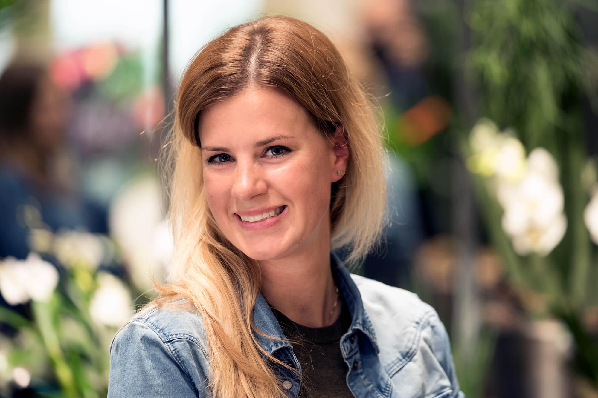Denise Eckert, Floristin