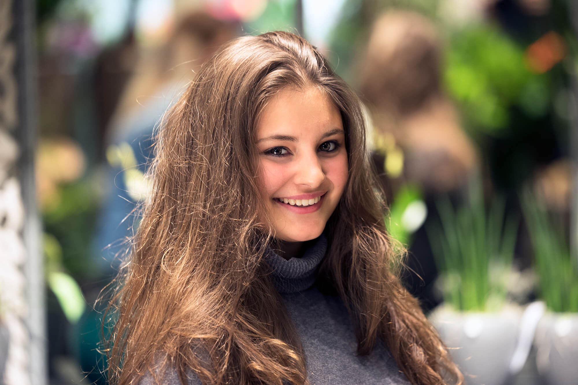 Livia Stamm, Auszubildende