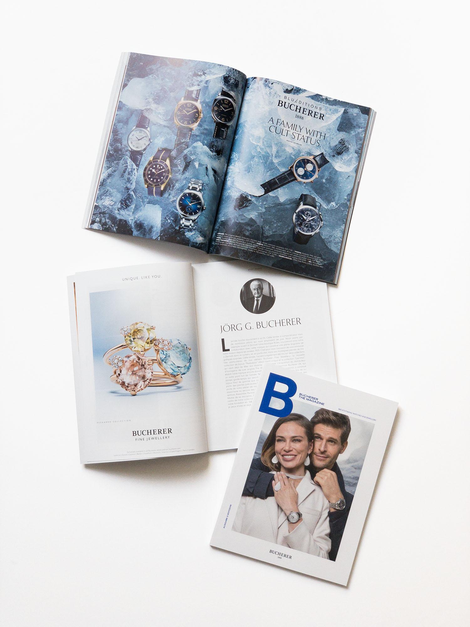 Bucherer AG - Magazine