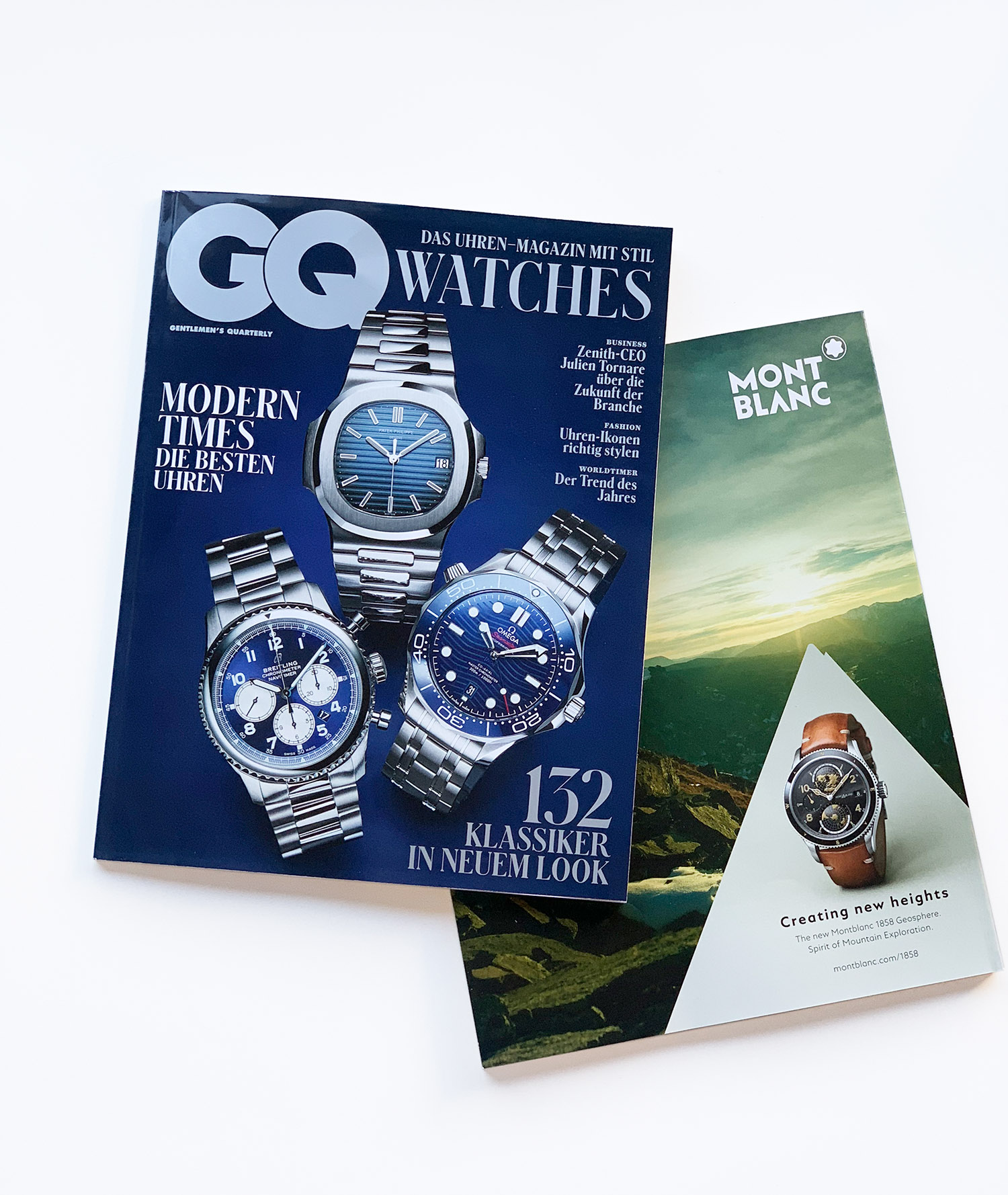 Mierswa-Kluska - GQ Cover / Backside: Montblanc, Solomon Winter