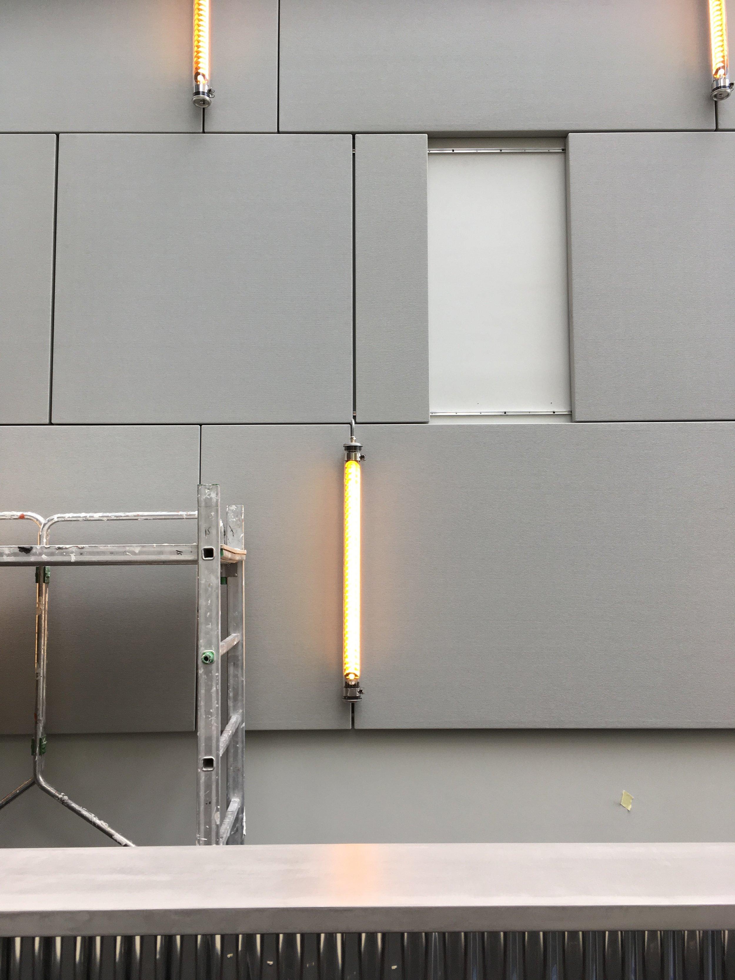 GENNEVILLIERS - Aménagement et décoration des parties communes d'un immeuble de bureaux92230 |Livré en juillet 2017